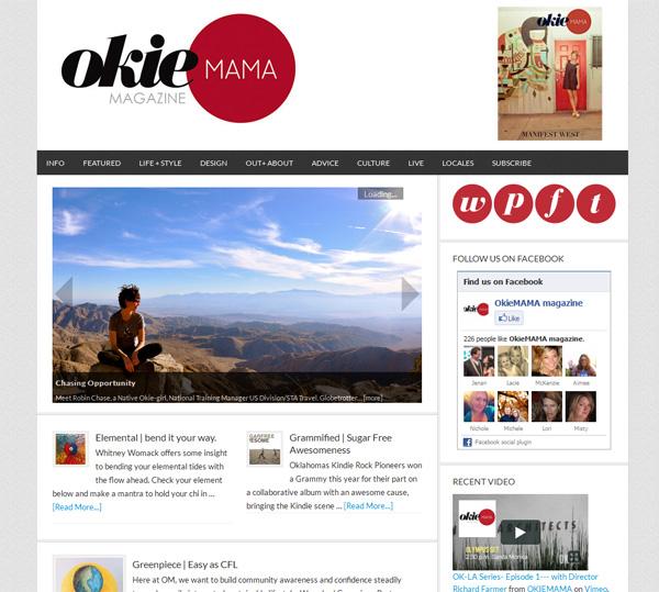 Okiemama Magazine