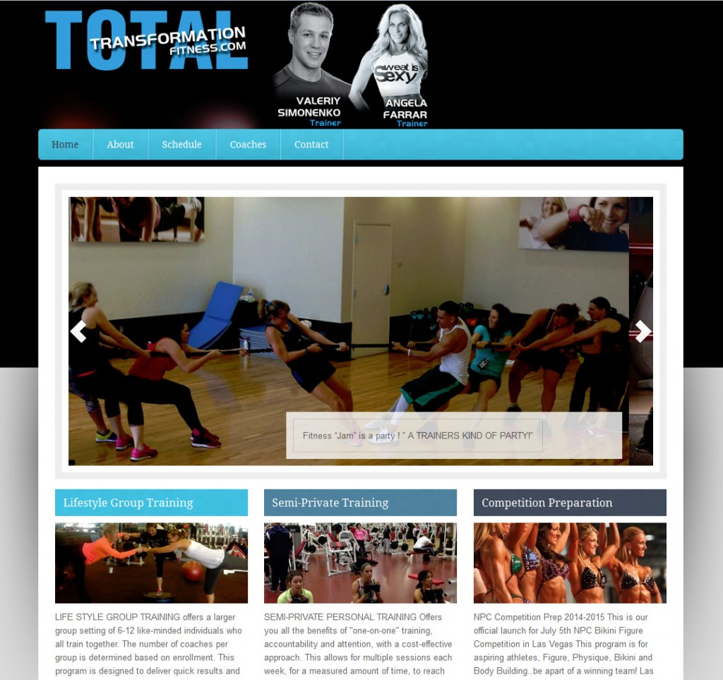 Total Transformation Fitness
